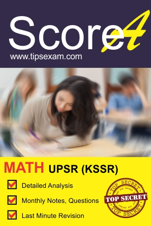 UPSR math exam tips