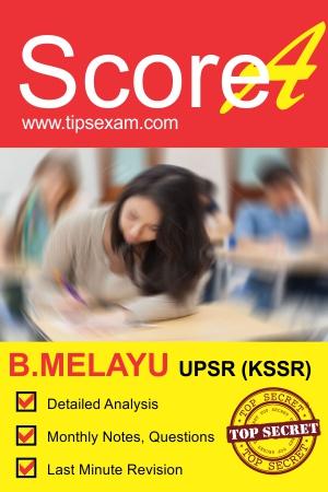 UPSR BAHASA MELAYU exam tips